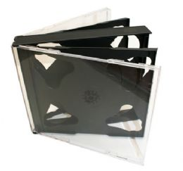 10 x 6 ways Jewel Cases(Now no VAT)